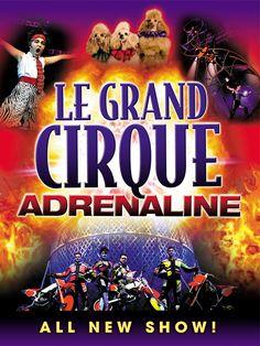Le Grand Cirque | Adrenaline | Palace Theatre Myrtle Beach