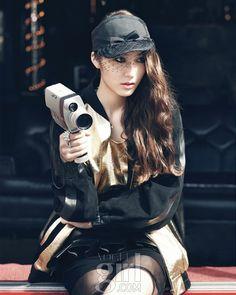 Krystal from F(X) 크리스탈의: Vogue Girl Korea