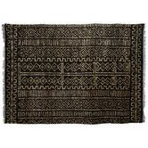 Found it at Wayfair Australia - Cut Pile Hemp Black/Cream Rug