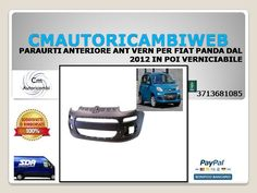 FIAT IDEA PARAURTI ANTERIORE CON PRIMER DAL 2003 AL 2012