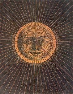 Petrus Apianus. Astronomicum Caesarium (detail). 1540.