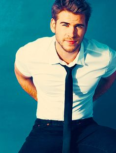 Well hello there Mr. Hemsworth! I can't wait to see Hunger Games on the big screen!