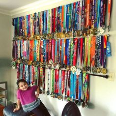 Medal Display Rack That Is Affordable, Practical, and Easy To MakeYou can find Medal displays and more on our website.Medal Display Rack That Is Affordable, . Trophy Shelf, Trophy Display, Award Display, Medal Display Case, Race Medal Displays, Display Medals, Running Medal Displays, Hanging Medals, Medal Rack