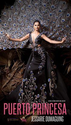 Philippines Dress, Philippines Culture, Puerto Princesa, Miss Universe National Costume, Miss Pageant, Fashion Show Dresses, Filipino Tribal, Filipino Culture, Filipina Beauty