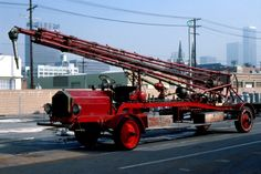 Old Tractors, Fire Apparatus, Water Tower, New Trucks, Fire Trucks, Towers, Rigs, Platform, Classic