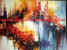 Encuentra el video explicativo paso a paso de Abstracto con Aguadas, ingresando al Sitio Web Oficial: www.gabrielamensaquevideos.com