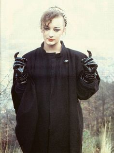 Boy George from Culture Club. He taught us all to love your fashion, to love yourself, and that gender is of no matter.