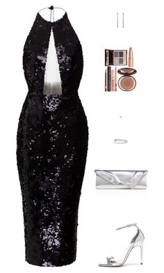 """""""Untitled #5310"""" by mdmsb ❤ liked on Polyvore featuring Alex Perry, Yves Saint Laurent, Christian Louboutin, Gucci and Charlotte Tilbury"""