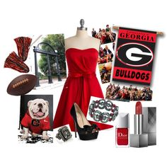 Gameday At UGA!! So Excited!! This Is My First Original Creation!Hope All My Georgia Girl Pinterest Board Friends Enjoy! Christie
