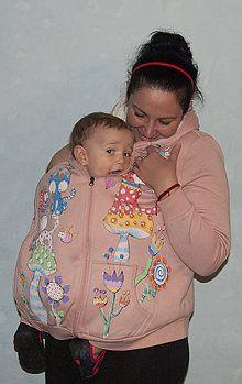 Tehotenské oblečenie - Cicková trivjednom - 7307560_