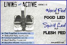 """Living and Active"" Challenge : Keys and Scripture | peak313.com"