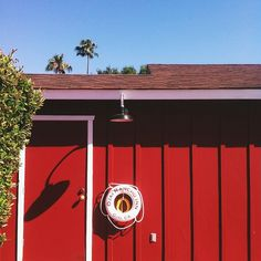 Ojai Rancho Inn in Ojai, CA. // Instagram: @Bonnie S. Tsang Shades Of Red, 50 Shades, Ojai California, Color Stories, Beach Cottages, Adventure Is Out There, Get Outside, The Places Youll Go, Curb Appeal