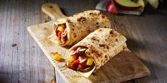 Wraps made with melted Sargento® Sliced Pepper Jack Cheese layered upon slice deli roast beef, mango chutney and apple slices. Hot Sandwich Recipes, Beef Wraps, Pepper Jack Cheese, Apple Slices, Wrap Sandwiches, Roast Beef, Cheese Recipes, Chutney, Deli