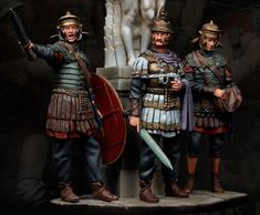 Imperial Units, Punic Wars, Roman Legion, Celtic Warriors, Frank Morrison, Roman Soldiers, Military Diorama, Iron Age, Ancient Rome
