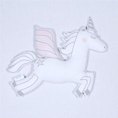 Create world of whimsical wonder with these magical unicorn plushies. They're not just a toy or decorative pillow, they're a little girl's best friend.