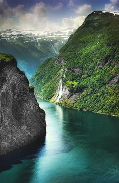 Geiranger, Norway... wow, what beauty!!