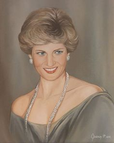 . Beautiful painting of Diana