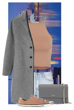 """""""Babe of Baltimore"""" by eb-case on Polyvore featuring Topshop, NLY Trend, Gap, DKNY and Converse"""