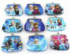Kids Snow Queen wallet,only $1! Discount Children's Accessories from China