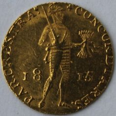 Nederlands - Ducat 1815 William I goud