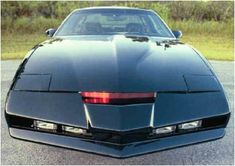 KITT (Knight Industries Two Thousand) was a 1982 Pontiac Firebird Trans Am from the TV show (Michael) Knight Rider, played by David Hasselhoff