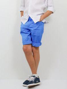 Boy's Shorts 22767 Storm Blue