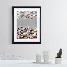 Abstrakte Farb- und Formkompositionen