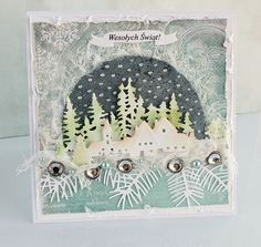 kartki świąteczne ręcznie robione szablony boże narodzenie - Szukaj w Google