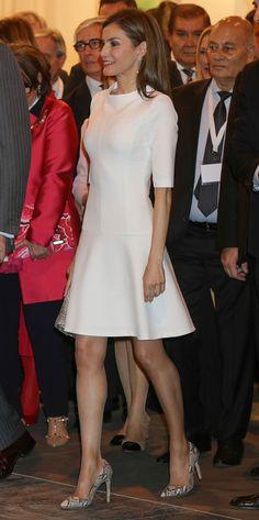 La reina Letizia en Arco, 23.02.2017