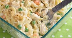 *** Hint *** It's JUST Like Chicken Noodle Soup    So many times we want to dig into a yummy-looking casserole, but think twice because we know what usually goes into them…calories. With this chicken tetrazzini, you