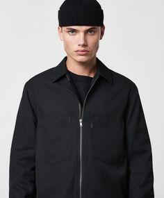 Lavage Foncé - Zip Overshirt Black - Stayhard Athletic, Zip, Jackets, Black, Fashion, Down Jackets, Moda, Athlete, Black People