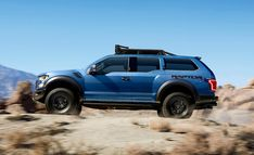 Charged modification of the pickup truck Ford Raptor was demonstrated by American automaker. Variation presents new generation model 2017 ford Raptor, Ford F150 Raptor, New Pickup Trucks, Ford Trucks, Ford 4x4, Raptor 2016, Chevy Reaper, Detroit Auto Show, Land Rover, Ford Motor Company