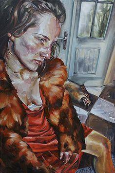 Justine Otto - Google Search Nalini Malani, Pegge Hopper, Amrita Sher Gil, Hung Liu, Female, Painting, Animals, Polish, Artists