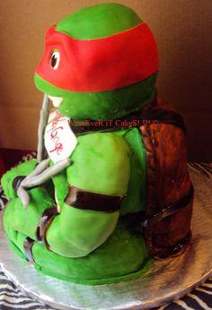 1000 Ideas About Ninja Turtle Cake On Pinterest Ninja
