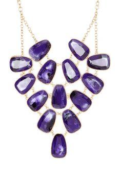 Diva Diva Bib Necklace by Go Bright: Jewelry Event on @HauteLook