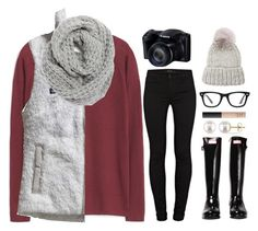 """""""Taking photos of the snow ☺️❄️"""" by lovelyl4uren ❤ liked on Polyvore featuring MANGO, J Brand, Hunter, Miadora, Patagonia, Halogen, NARS Cosmetics, Ray-Ban, Eugenia Kim and women's clothing"""