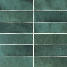 Bedrosians Cloe Green x Glossy Ceramic Subway Wall Tile at Lowe's. The Cloe collection is a hand crafted artisan style ceramic wall tile. Ceramic Mosaic Tile, Ceramic Subway Tile, Mosaic Glass, Green Subway Tile, Green Tiles, Glazed Ceramic, Ceramic Flooring, Subway Tiles, Stone Flooring