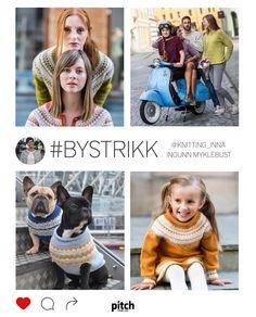 Endelig har en av Norges mest populære strikkere samlet sine kjente oppskrifter, blant annet det vakre Gudrunmønsteret. Dette er BYSTRIKK!