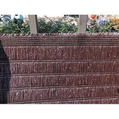 Tieniaca tkanina BrownDecor, m, hnedá - Tieniace tkaniny Straw Bag