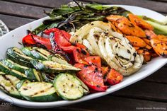 Grill your food #veggies #grilling #summer #fitfluentialfood #healthy