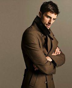 Chocolate wool coat