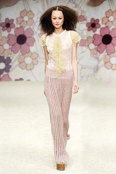 "Vintage Ruffles  Fashion Trend 4 Spring Summer 2012 "" Ruffles ""  Kristina TiSpring Summer 2012 Fashion"