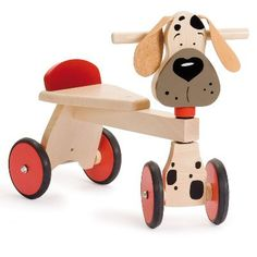 www.hastings-crystal.co.uk Gift By Recipient Babies Infants Dog Walker Ride On Wooden Toy