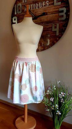 ZuzanaFalk / sukňa kruhy Pastel, Summer Dresses, Tops, Women, Fashion, Moda, Cake, Summer Sundresses, Fashion Styles