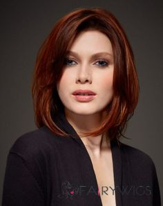 Image result for short hairstyles auburn