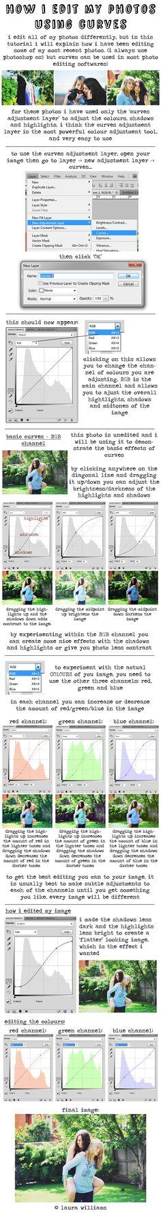 how i edit my photos - tutorial