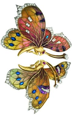 Butterfly Brooch, c 1910. | Rozet & Fischmeister Co., Vienna, Privately owned