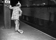 After midnight, clowns are not funny.