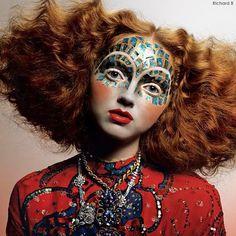 TODAY ARTISTIC MAKEUP IS THE BIG CHALLENGE ! maquiagem artistica , Voce conhece e gosta?