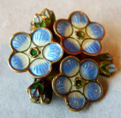 Vintage RARE David Andersen Norway Silver 4 Seasons Pin Enamel Brooch Jewellery | eBay